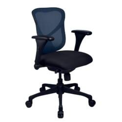 Realspace luna mesh, fabric Office Chair Blue
