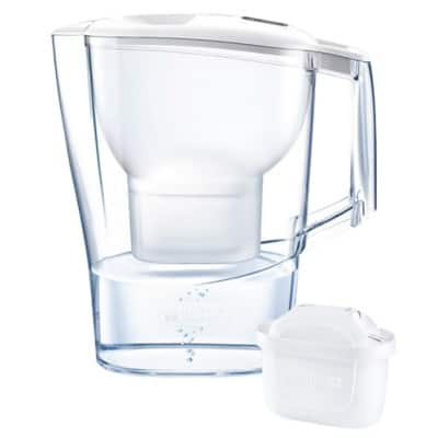 BRITA Water Filter Jug Aluna White