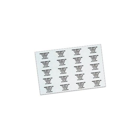 Address/Telephone Labels-White (65/Sheet - 16 Sheets/PK)