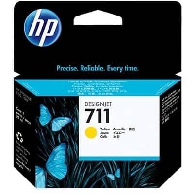 HP 711 Original Ink Cartridge CZ132A Yellow