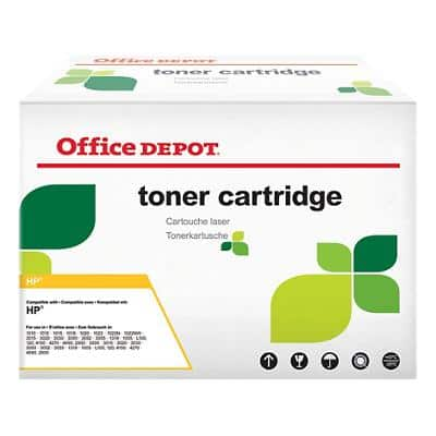 Compatible Office Depot HP 307A Toner Cartridge CE742A Yellow