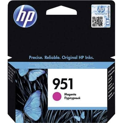 HP 951 Original Ink Cartridge CN051AE Magenta