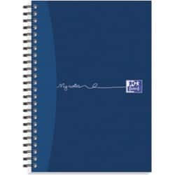 OXFORD Notebook My Notes A5 Ruled Blue 5 pieces of 100 sheets