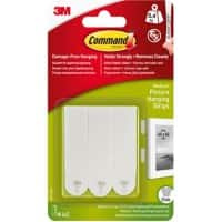 Command Mounting Strip Damage- Free Hanging White Pack of 4