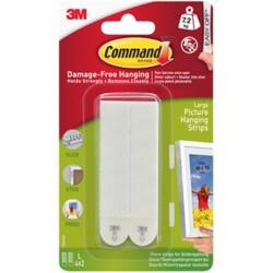 Command™ Picture Hanging Strips Large Pack 4