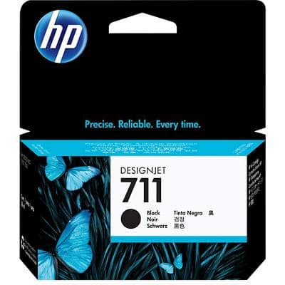 HP 711 Original Ink Cartridge CZ129A Black