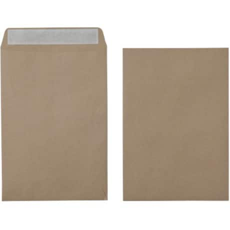 Office Depot Envelopes c3 115gsm Brown plain peel and seal 125 pieces