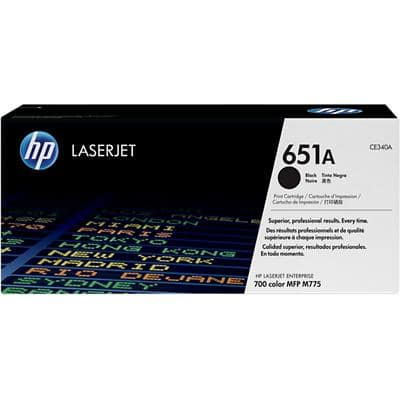 HP 651A Original Toner Cartridge CE340A Black