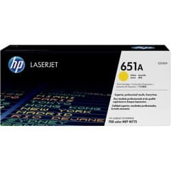 HP 651A Original Toner Cartridge CE342A Yellow