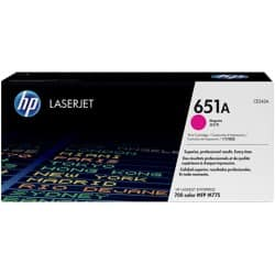 HP 651A Original Toner Cartridge CE343A Magenta