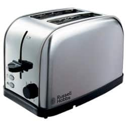 Russell Hobbs Futura brushed stainless steel 2 slice toaster