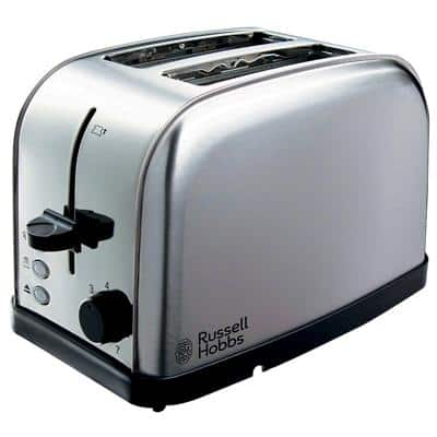 Russell Hobbs Toaster 18780 17.4 x 28.2 x 18.4 cm Silver