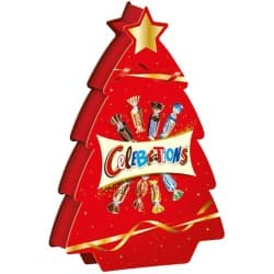 Celebrations Sweets Christmas Tree Assorted 215 g