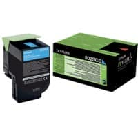 Lexmark 80C2SCE Original Cyan Cartridge toner