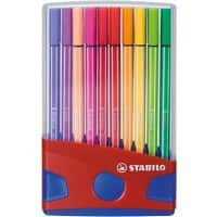 Stabilo 6820-04 Pen 68 fineliner felt colouring pens parade set -20 - assorted
