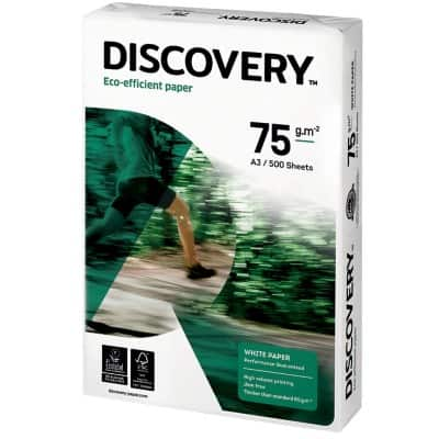 Discovery Universal Paper A3 75gsm White 500 Sheets
