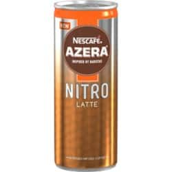 Nestlé Nitrogen Infused Cold Latte Coffee can 250 ml