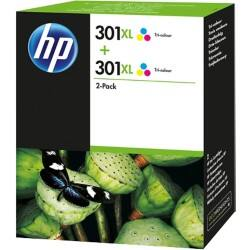 HP 301XL Original Ink Cartridge D8J46AE 3 Colours 2 pieces