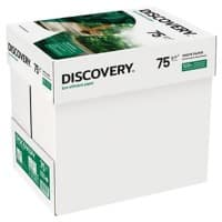 Discovery Eco-Efficient Paper A4 75gsm White Quickbox of 2500 Sheets