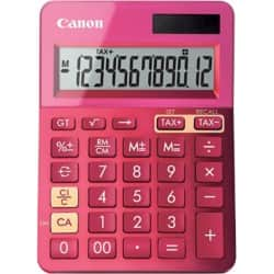 Canon Metallic Pink Calculator LS-123K