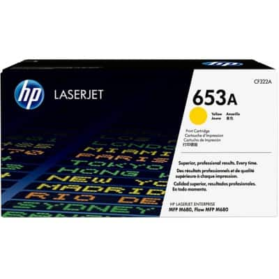 HP 653A Original Toner Cartridge CF322A Yellow