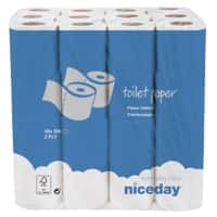 Niceday Toilet Rolls Standard 2 Ply 200 Sheets Pack of 48