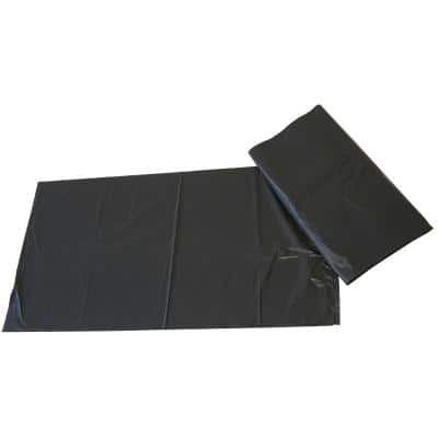 Paclan Garbage Bags 75 L Black 73.7 x 45.7 x 83.8 cm 200 Pieces