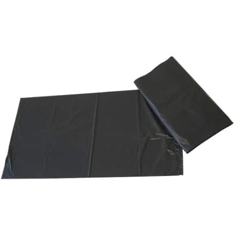 Paclan Refuse Sacks 75 l 10 kg Black 200 pieces