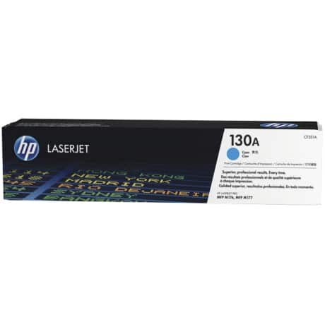 HP 130A Original Toner Cartridge CF351A Cyan