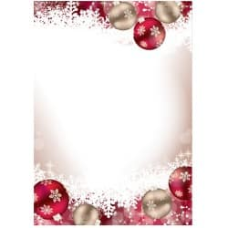 Sigel Christmas Paper Frozen A4 90gsm Pink, Red 100 sheets