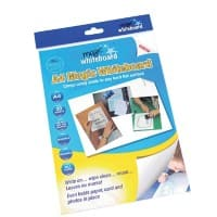 Magic Whiteboard Adhesive Whiteboard 29.7 x 21 cm 20 pieces