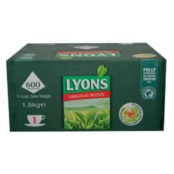 Lyons Black Tea Tea Bags 600 Pieces