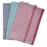 Tea Towels Rice Weave Assorted 10 Pieces