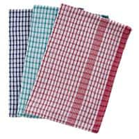 Tea Towels Rice Weave Assorted 45 x 70cm Pack of 10