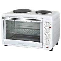 igenix Mini Oven Double Hotplates IG7145 1600W White