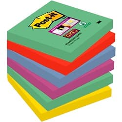 Post-it Super Sticky Notes Marrakech Assorted 76 x 76 mm 70gsm 6 pieces of 90 sheets