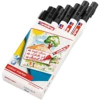 edding Marker Water Based 5 mm Black 12 Pieces