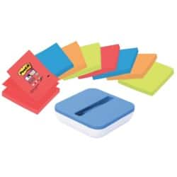 Post-it Z-Note Dispenser 76 x 76 mm Assorted  8 Pieces of 90 Sheets