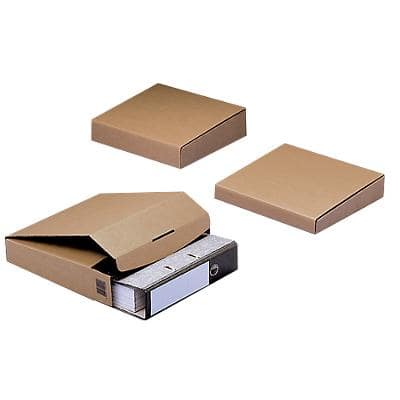 ColomPac Postal Boxes 300 (W) x 328 (D) x 62 (H) mm Brown Pack of 20