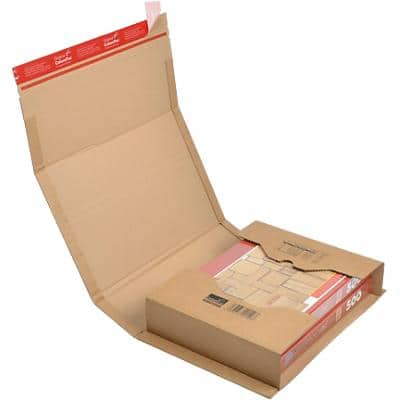 ColomPac Universal Postal Boxes 270 (W) x 330 (D) x 80 (H) mm Brown Pack of 20