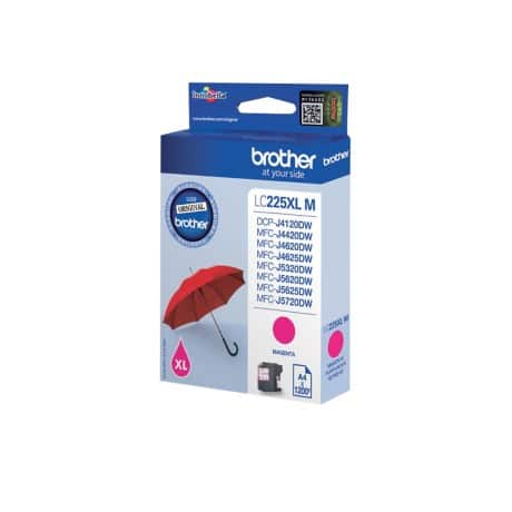 Brother LC225XLM Original Ink Cartridge Magenta