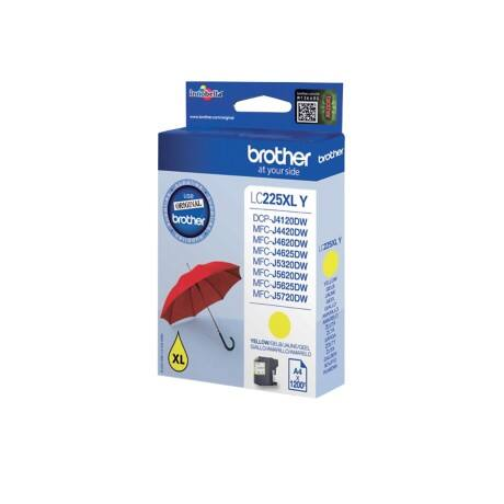 Brother LC225XLY Original Ink Cartridge Yellow