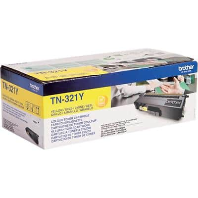 Brother TN-321Y Original Toner Cartridge Yellow
