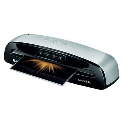 Fellowes Saturn 3i A4 Laminator, 300 mm/min. Warm Up Time 1 min up to 2 x 125 (250) Micron