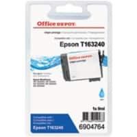 Office Depot Compatible Epson 16XL Ink Cartridge T163240 Cyan