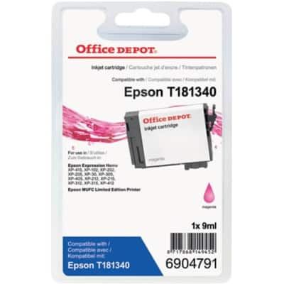 Office Depot Compatible Epson 18XL Ink Cartridge Magenta