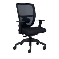 Office Chair Breeze synchro tilt Black