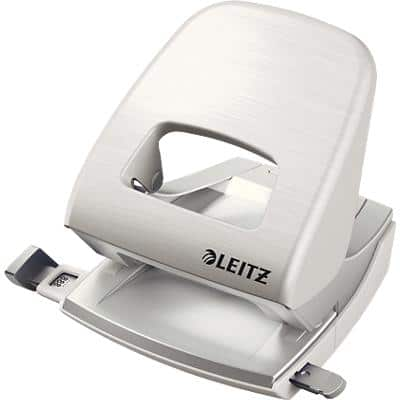 Leitz 2 Hole Punch 5006 White 30 Sheets
