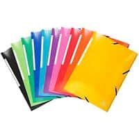 Exacompta 3 Flap Folder Iderama A4+ Assorted Cardboard 24 x 0.2 x 32 cm Pack of 25