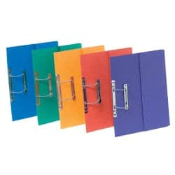Europa pocket spiral files - assorted